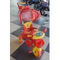 Велосипед детский трехколесный A 24-9 синий и красный